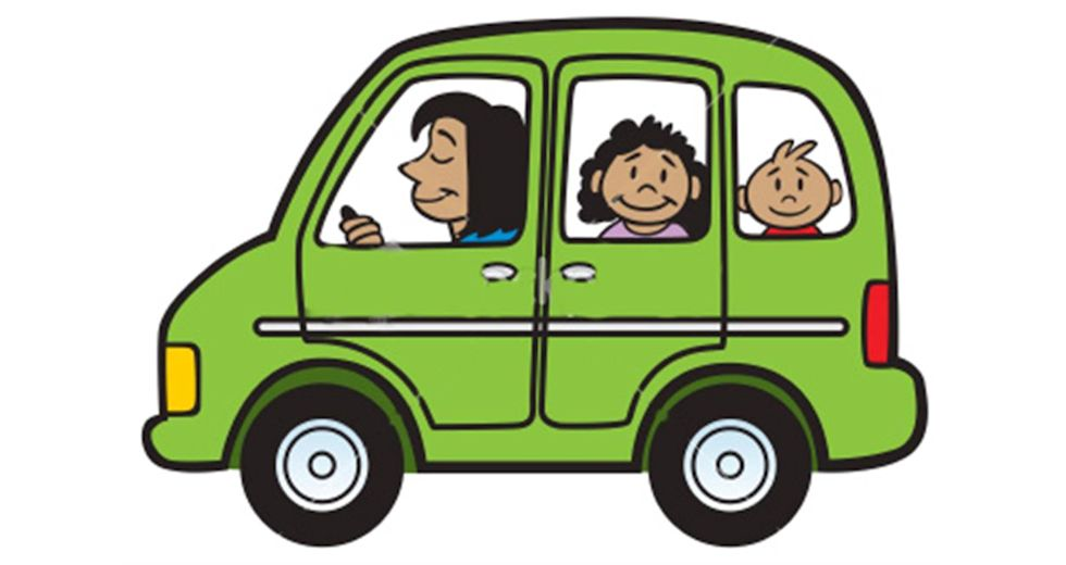 Image result for parent pick up from school clipart